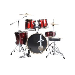 Peavey PV 5PC Drum Set Wine Red